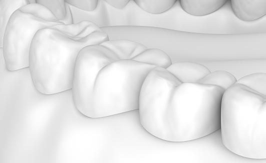 Munnen Tandköttet Och Tänderna Vita Stye 3d Illustration-foton och fler bilder på Anatomi
