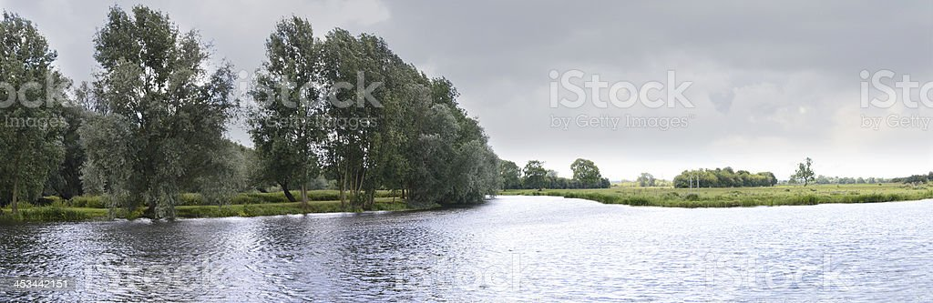 Mouth of the River Soar stock photo