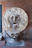 The Mouth of truth in Rome, Italy (La Bocca della Verità)
