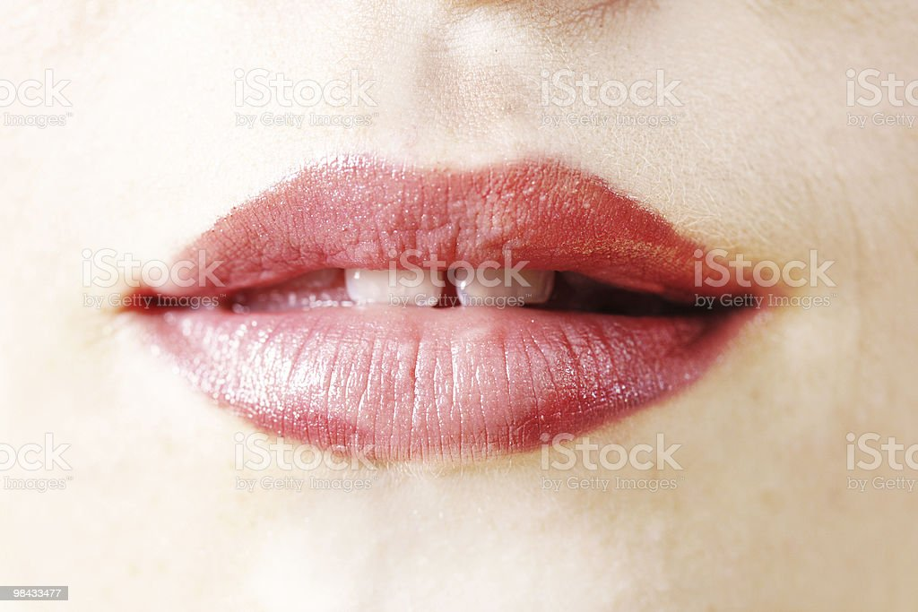 Mouth royalty-free stock photo