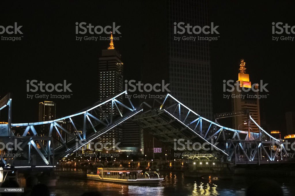 movable bridge stock photo