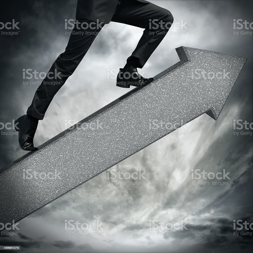 move to the top stock photo