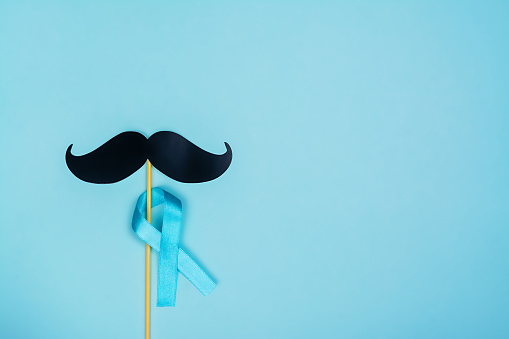 istock Movember background, copy space 1180979643