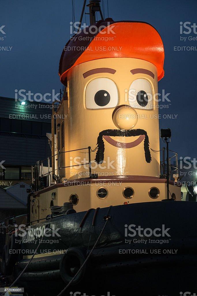 Movember Theodore stock photo