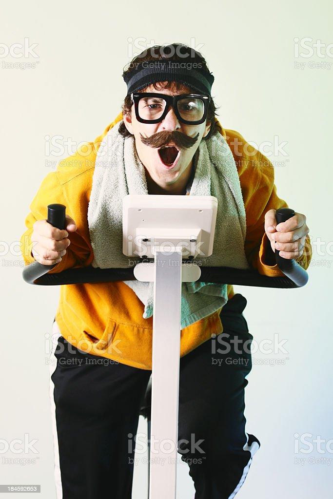 Movember Workout royalty-free stock photo