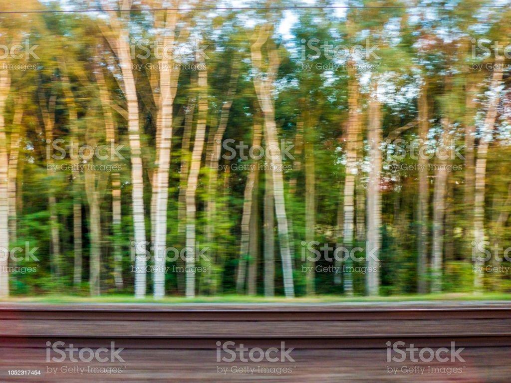 Movement along train tracks royalty-free stock photo
