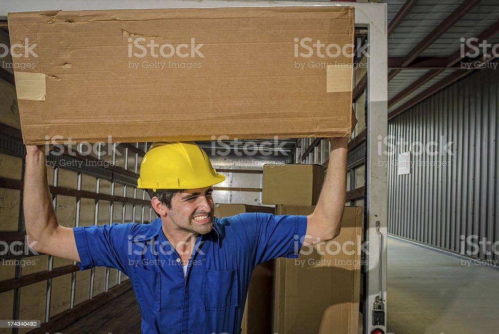 Mover Balancing Box on Head stock photo