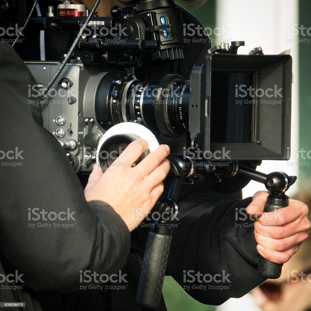 Movie Camera Filming - Photo de Adulte libre de droits
