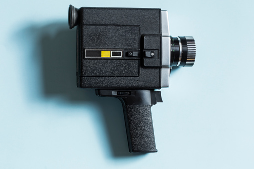 Movie Camera Stock Photo - Download Image Now
