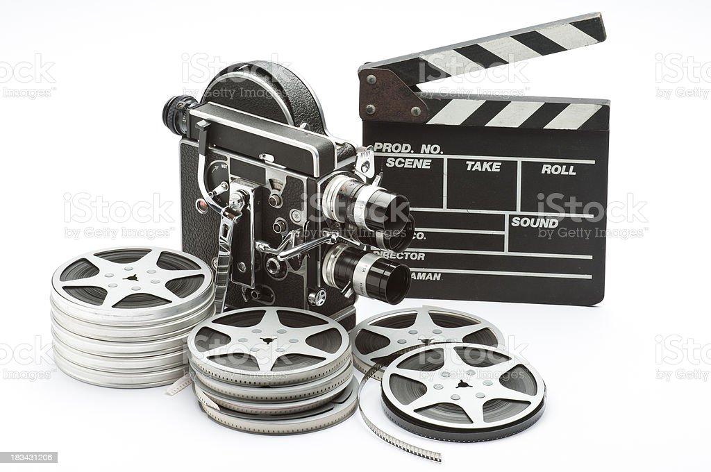 Movie Camera stock photo