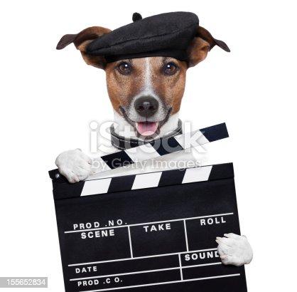 istock movie clapper board director dog 155652834