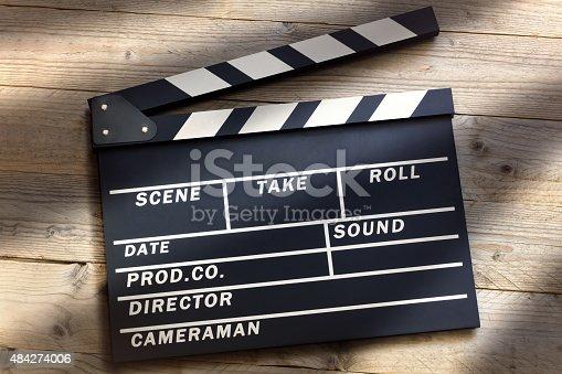 istock Movie clapper board 484274006