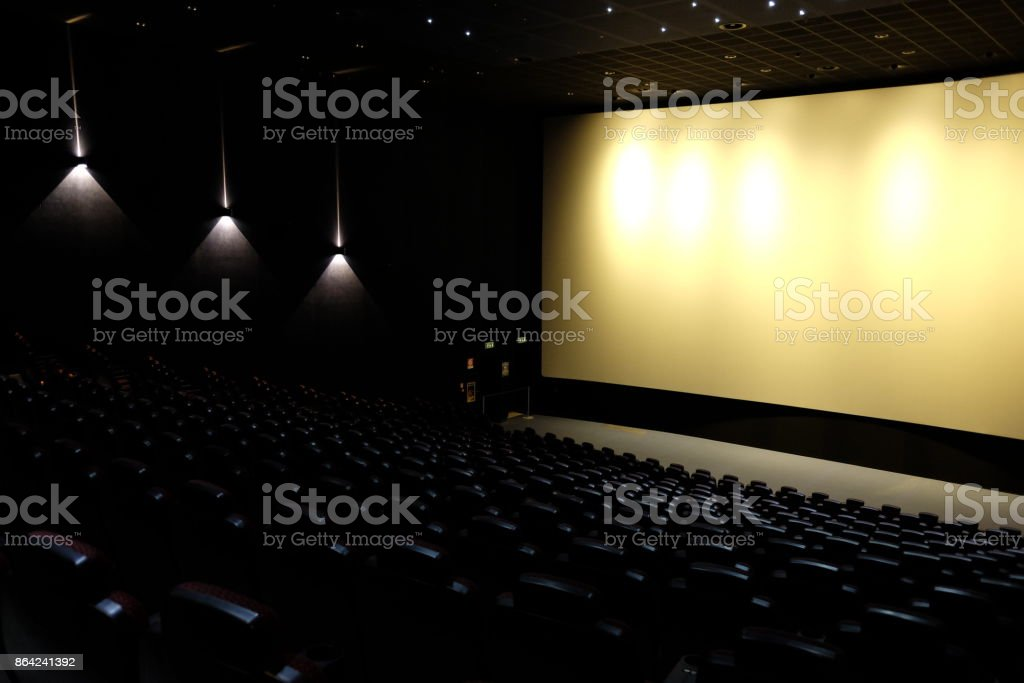 movie empty royalty-free stock photo