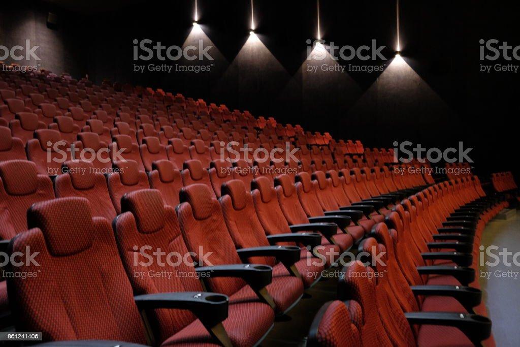 movie empty royalty-free stock photo