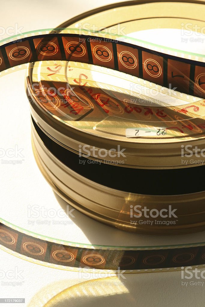 movie film and can royalty-free stock photo