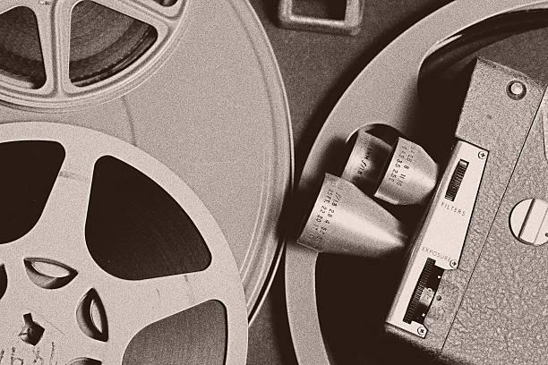 Movie Film Background stock photo