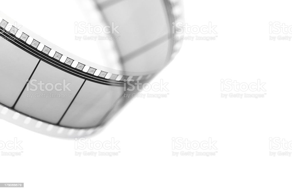 Movie film stock photo