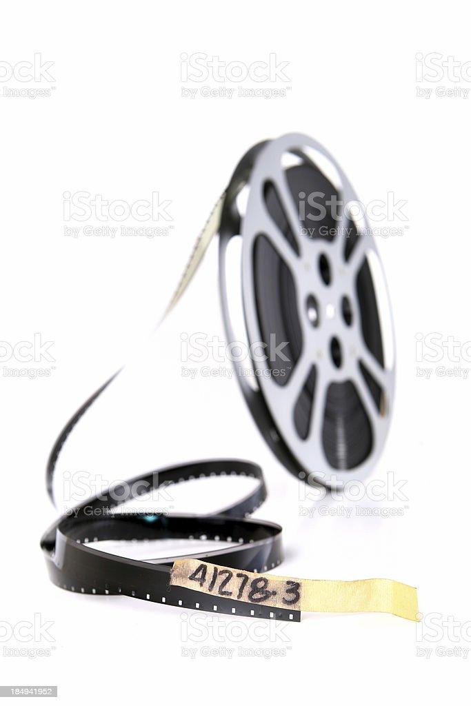 Movie Film Reel royalty-free stock photo