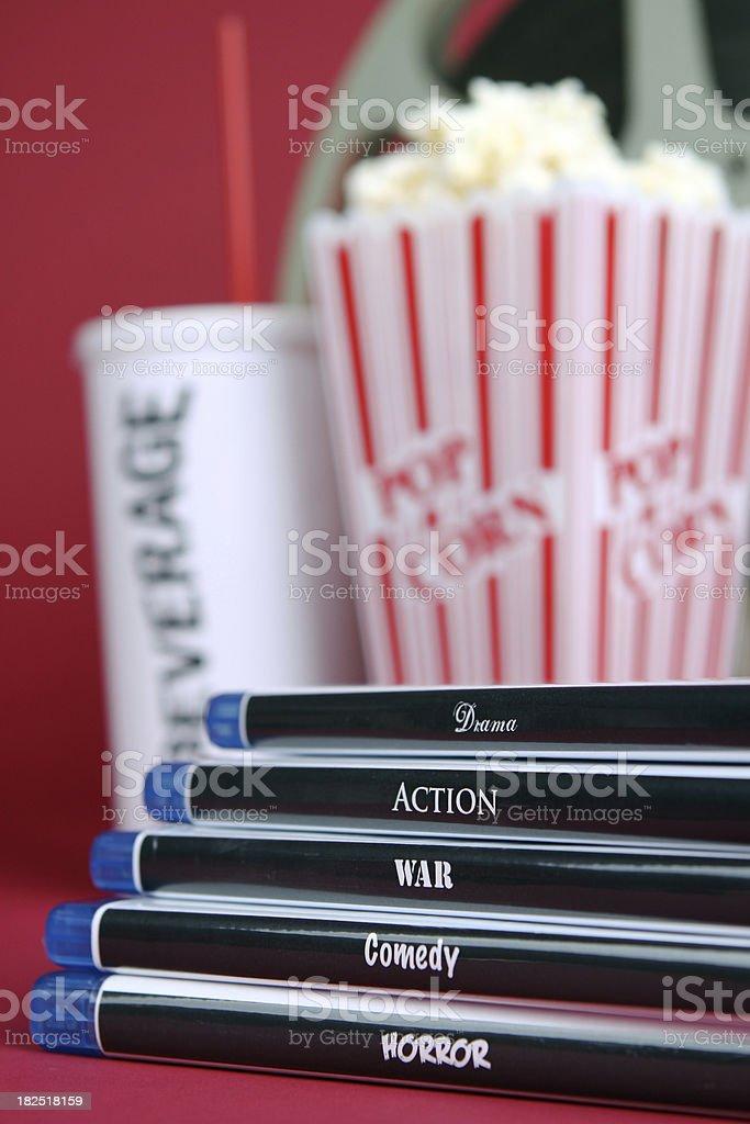 Movie Genres stock photo