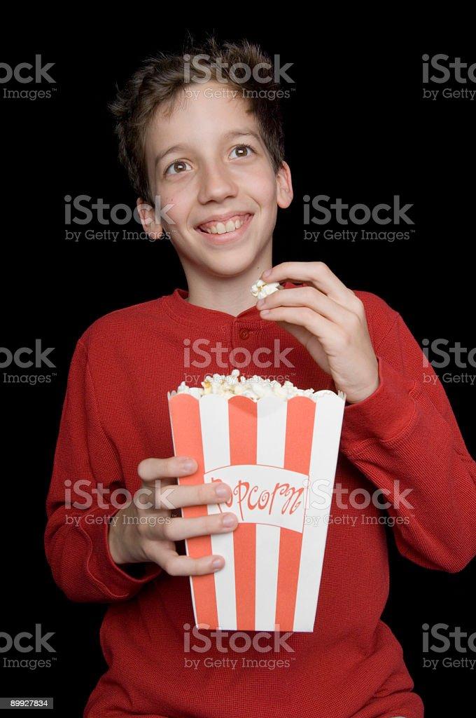Movie Happiness stock photo