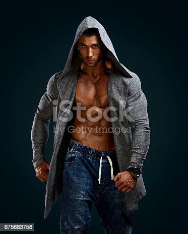 istock Movie Hero Looking Men 675683758