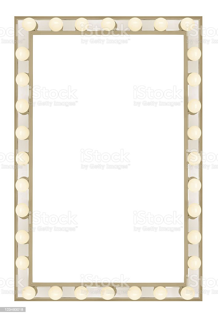 movie marque border XXL stock photo