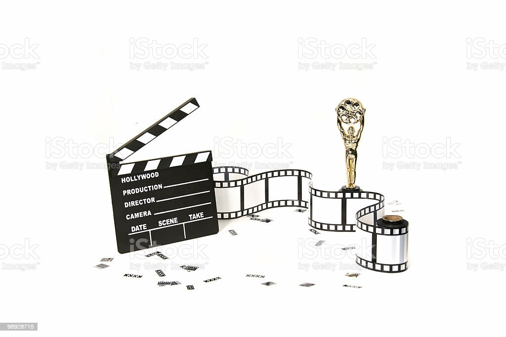 Movie Night 2 royalty-free stock photo