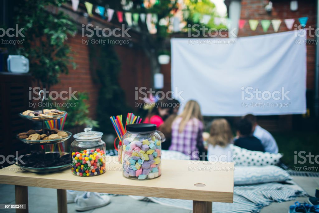 Filmabend im Hinterhof – Foto