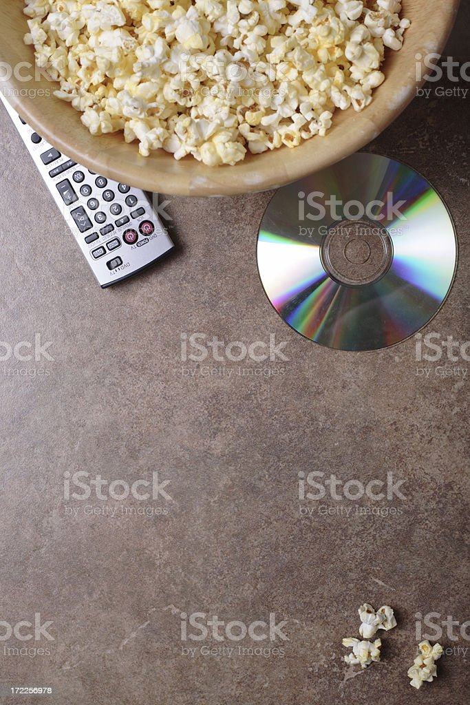 Movie Night royalty-free stock photo