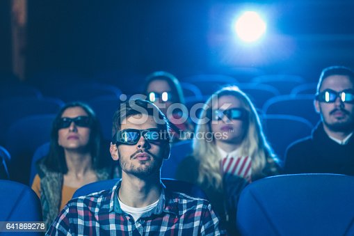 istock Movie night with friends 641869278