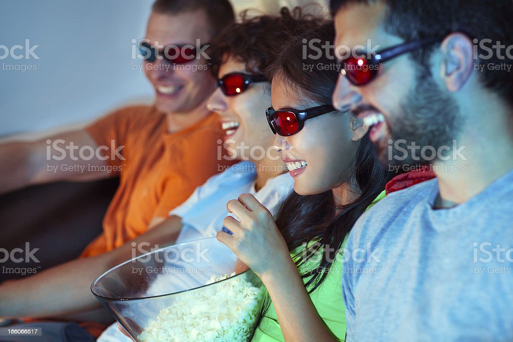 3D Movie stock photo