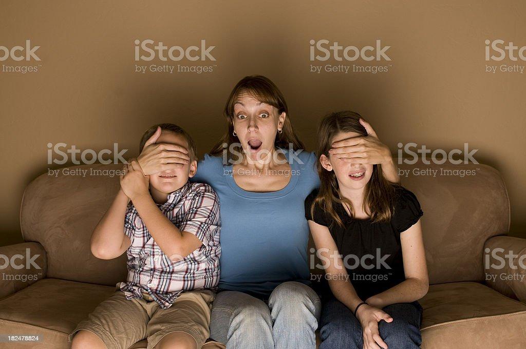 PG (Parental Guidance) Movie stock photo