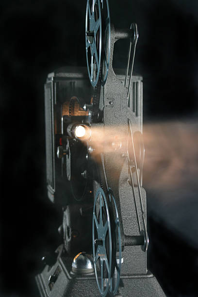 movie projector 1 stock photo