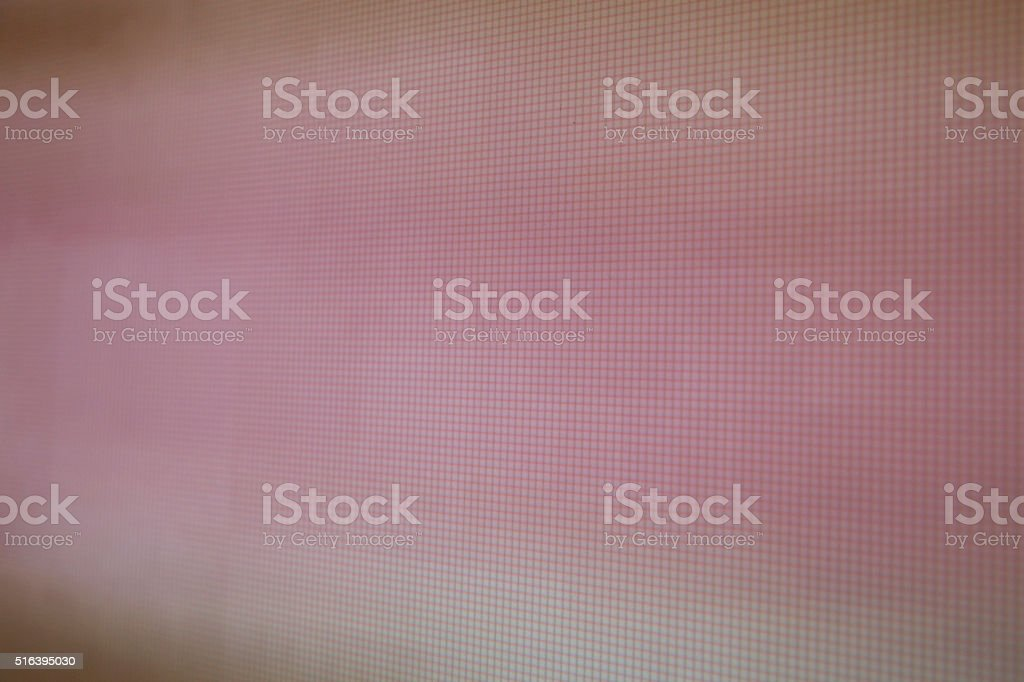 LCD movie projector broadcast digital noise electronic signal failure stock photo