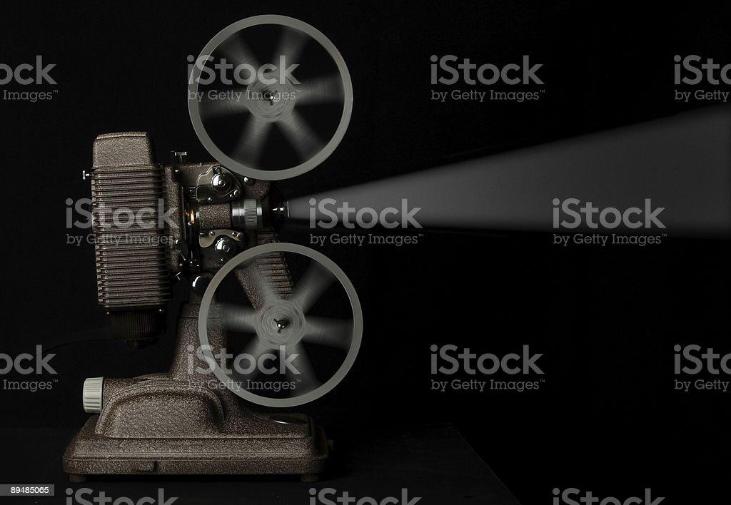 movie projector stock photo