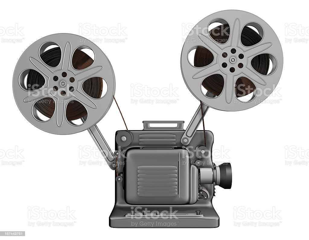 Movie Projector Side Stock Photo More Pictures Of Camera Film Istock