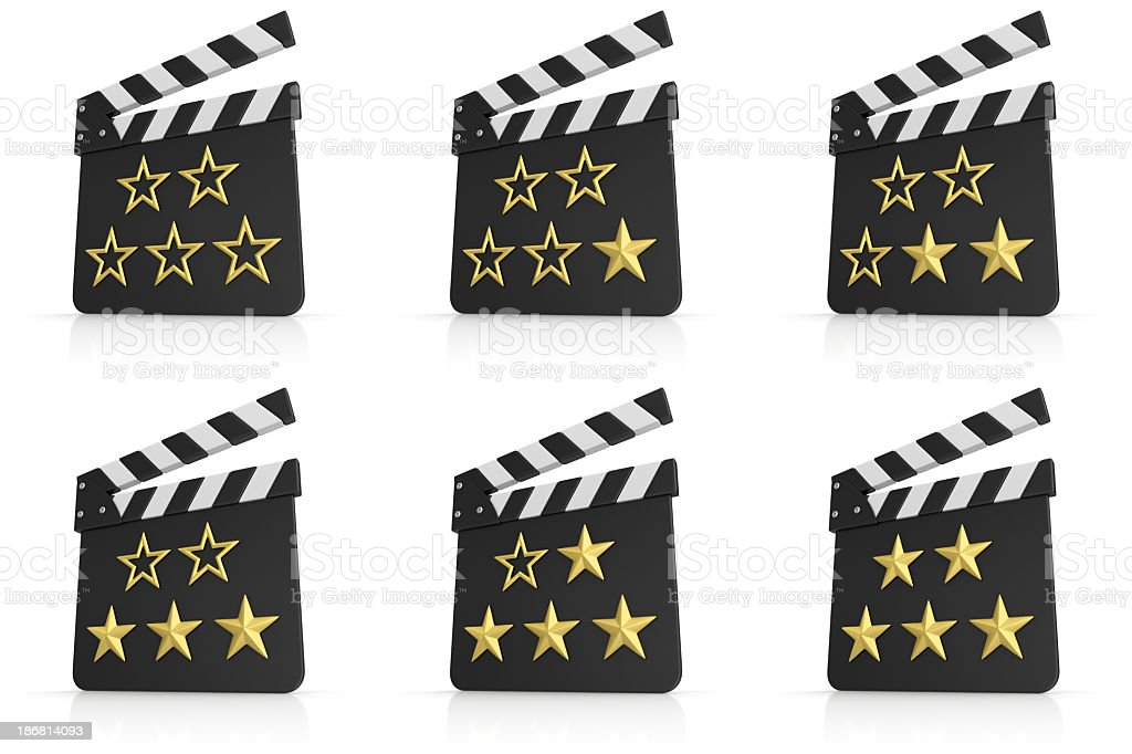 movie rating royalty-free stock photo