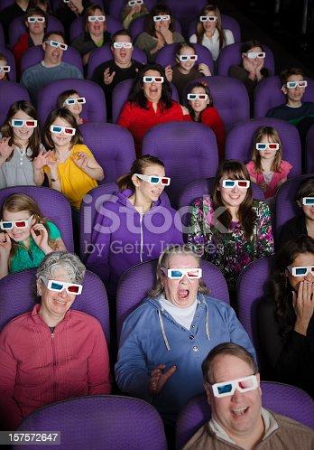 661896674istockphoto 3D Movie Theater Audience 157572647