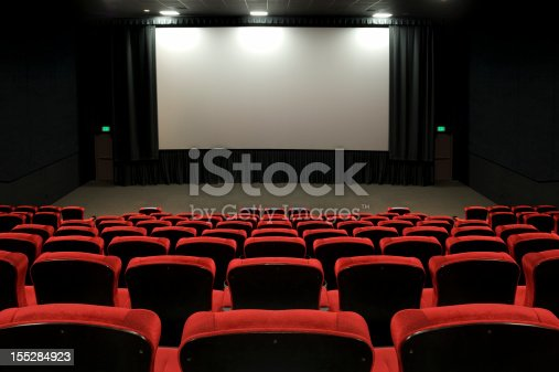 Movie screen and auditorium