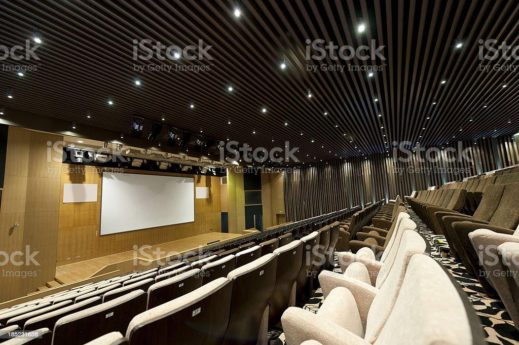 Movie Theater royalty-free stock photo
