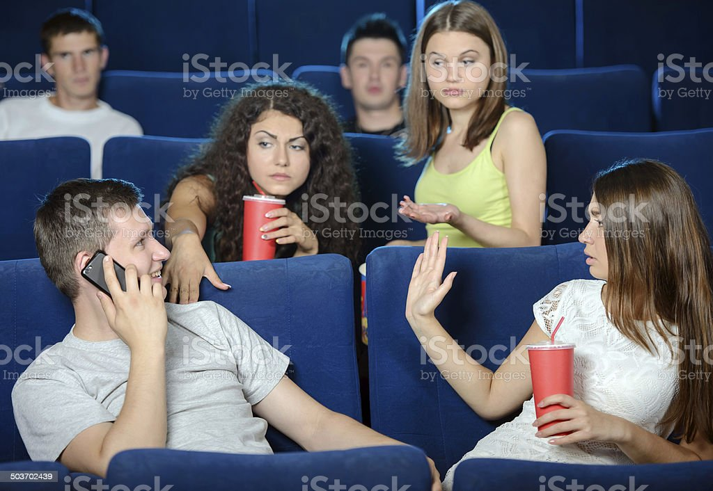 Movie Theater royalty-free stock photo