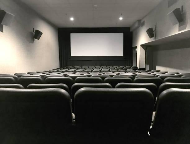 Movie theather stock photo