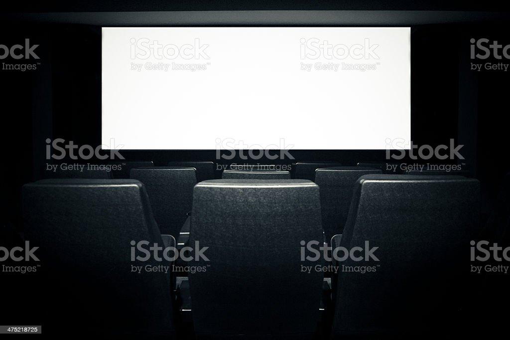Movie theatre royalty-free stock photo