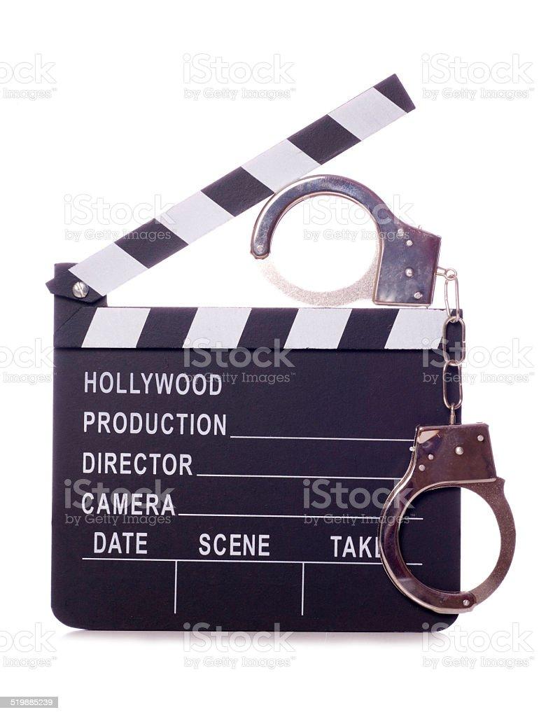 movie theft stock photo
