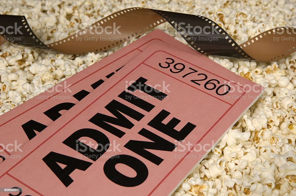 Movie tickets for you! royalty-free stock photo