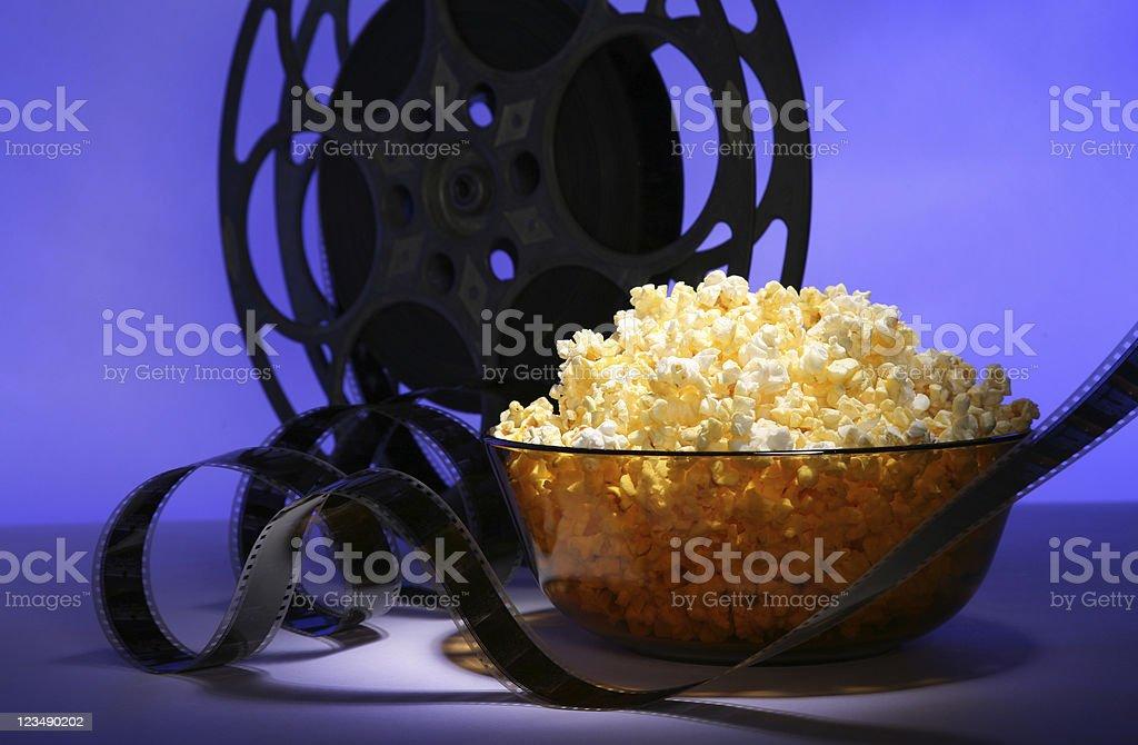 movie time stock photo