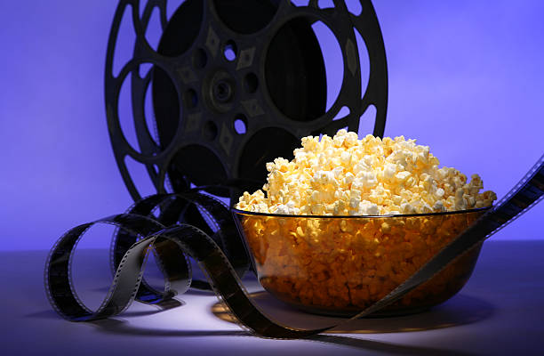 movie time - film festival stock photos and pictures