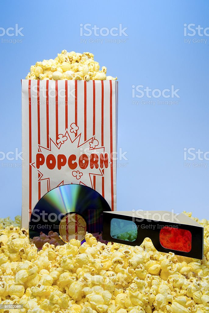 Movie Time royalty-free stock photo