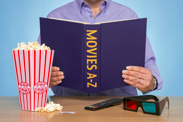 Movies A-Z stock photo