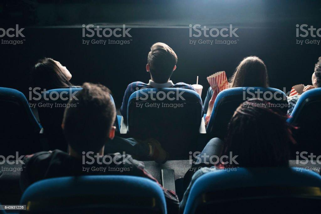 Movies Night stock photo